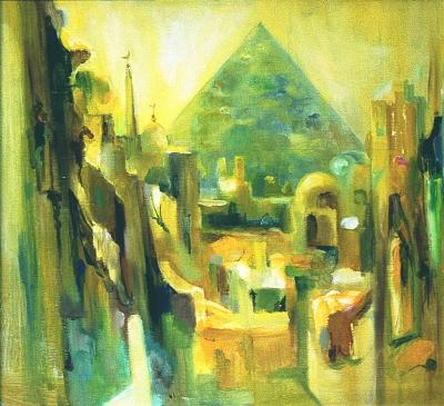 Каир. Пирамида