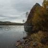 Осенью на берегу Енисея...