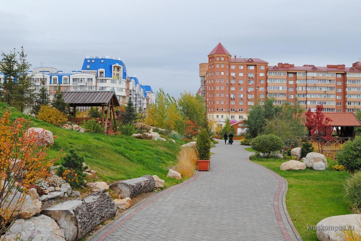 сады мечты красноярск фото летом