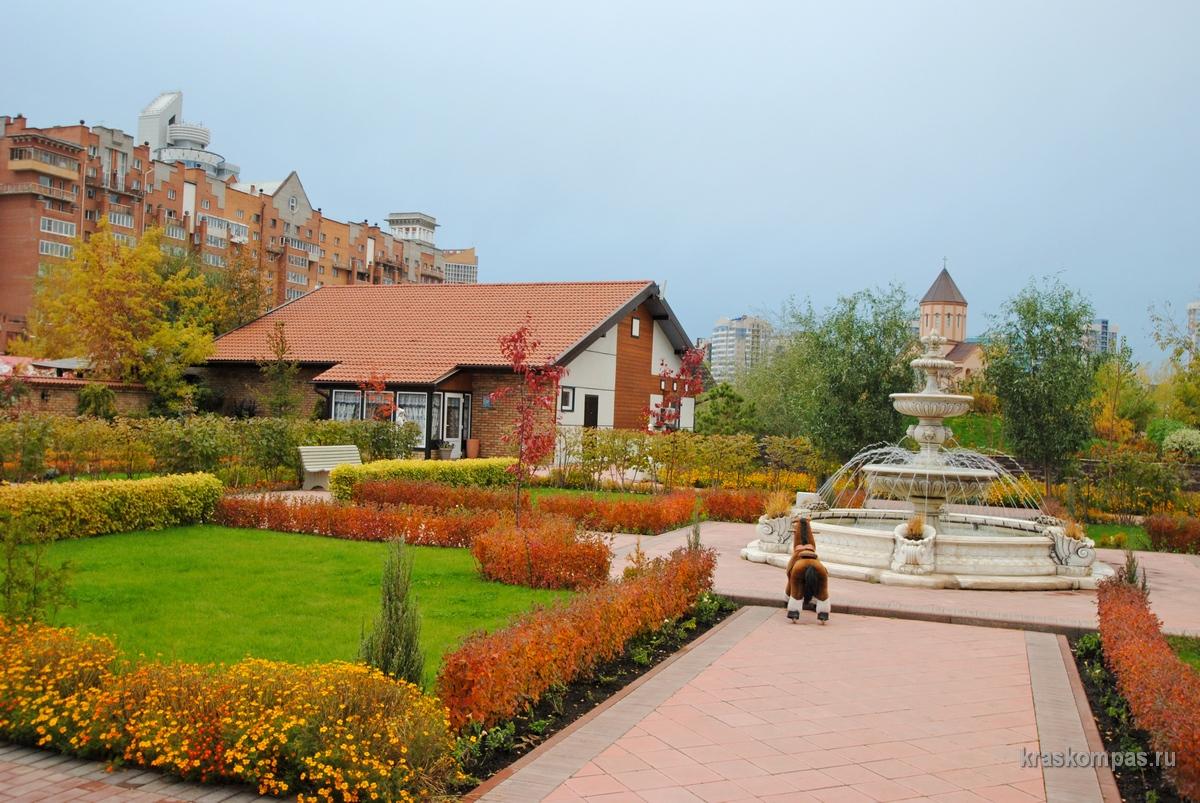 райские сады красноярск фото военное управления округа